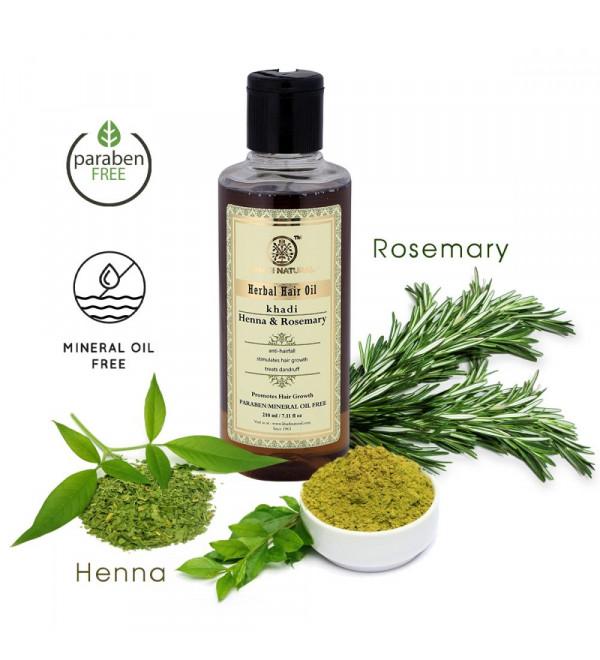 Henna & Rosemary Hair Oil