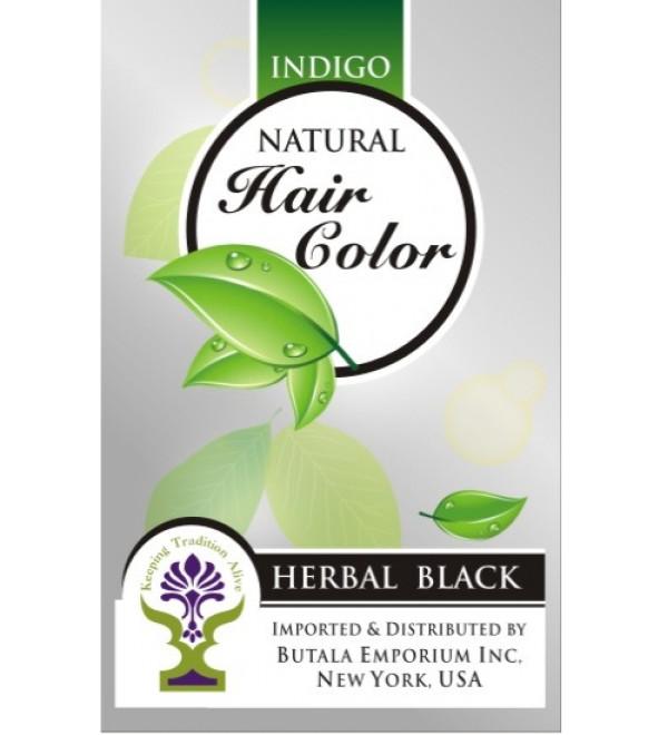 Indigo Natural Hair Color: Herbal Black
