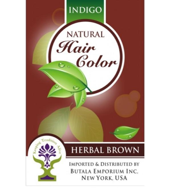 Indigo Natural Hair Color: Herbal Brown