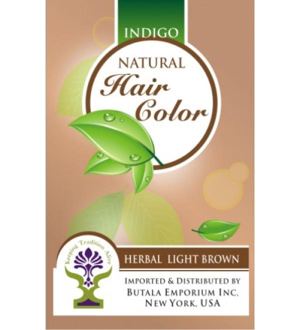 Indigo Natural Hair Color: Herbal Light Brown