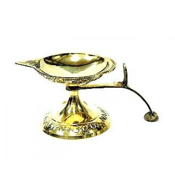 Brass Aarati Lamp (1 Face)