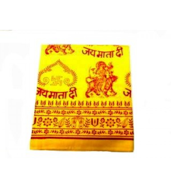 Shawl Yellow (Jai Mata Di)