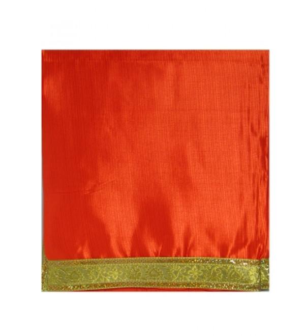 Shawl Orange (Silk)