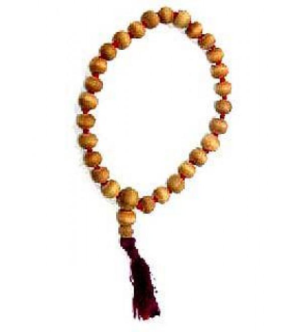 Japa Mala: Sandalwood 27 Beads