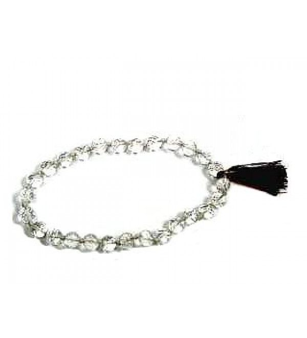 Japa Mala - Crystal (27 Beads)