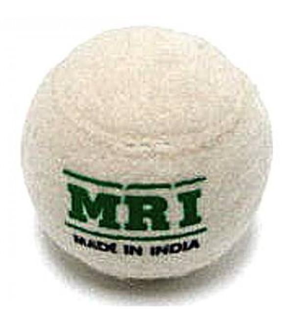 Cricket Ball : MRI White Tennis set of 6 pcs