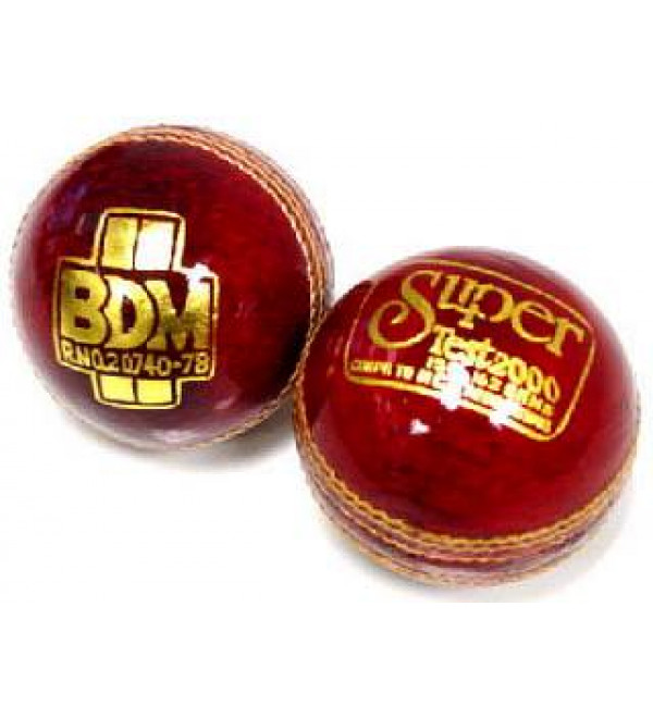 Cricket Leather Ball: BDM Super Test