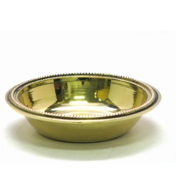 Brass Deep Mini Plate